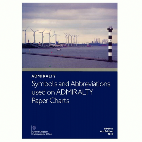 Admiralty - Symbols and Abbreviations Used on Admiralty Paper Charts 7th Edition 2018
